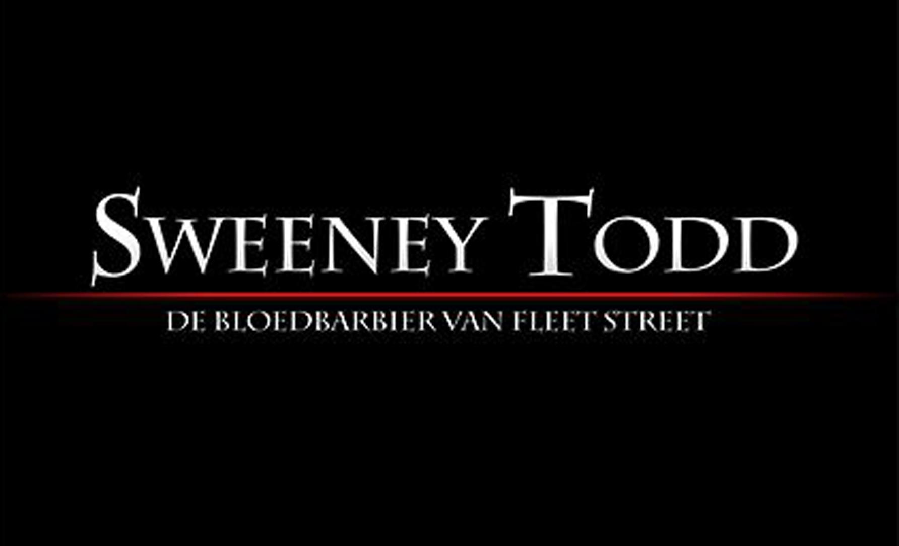 De musical Sweeney Todd