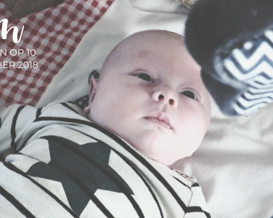 New Born Baby Video Shoot: Familie Hoenink