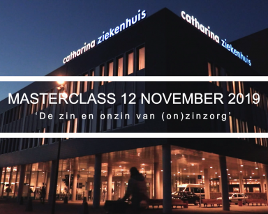 Masterclass Fontys Innovatie Community TRACK Z 2040 over zinnige zorg 12 november 2019