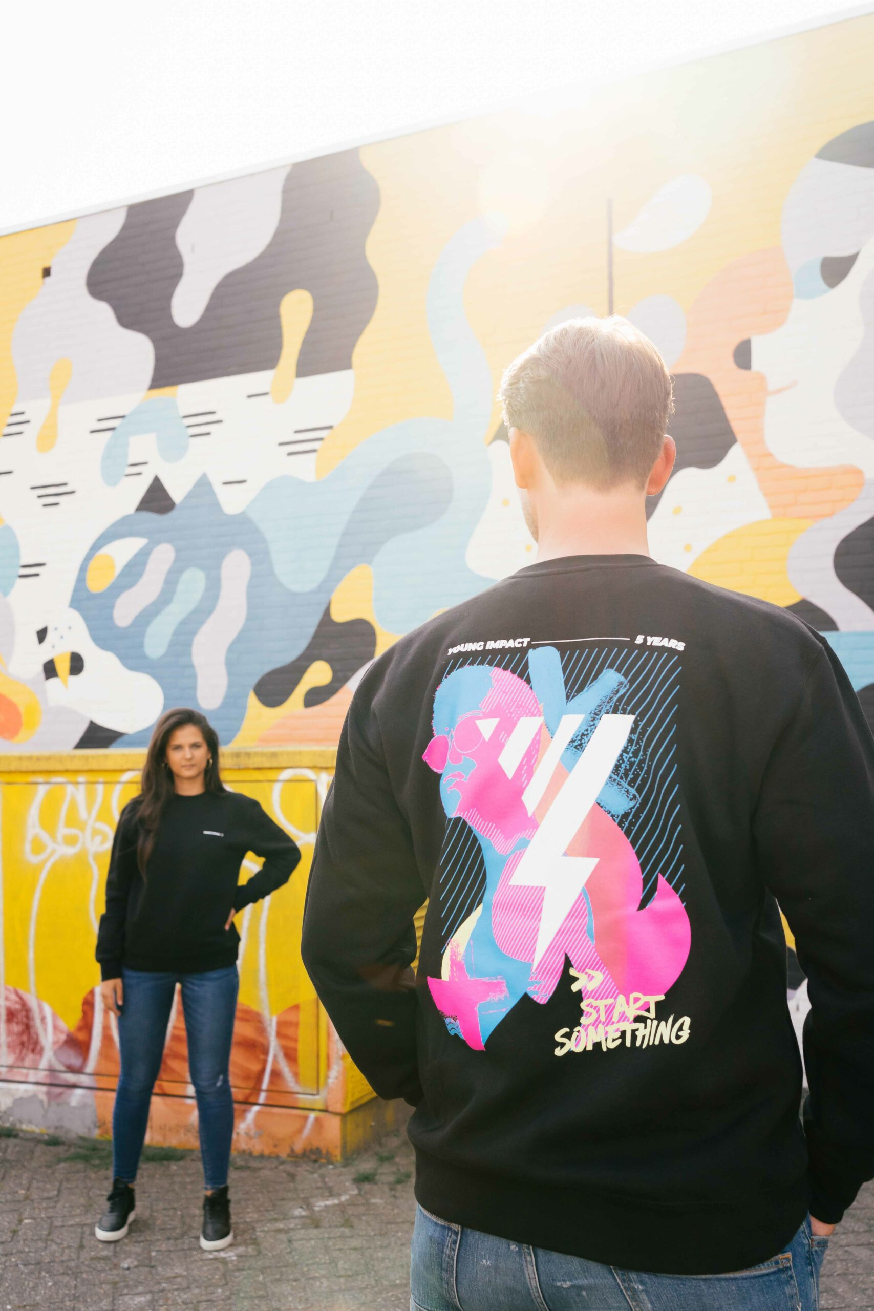 Fotoshoot Young Impact Sweaters